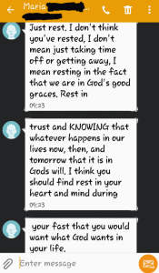 Rest Text